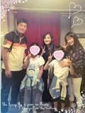 田中美奈子、親友・島田歌穂出演の『メリー・ポピンズ』を家族で観劇