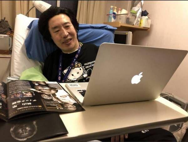 頸髄完全損傷で入院中の高山善廣、支援イベントを笑顔で観戦