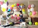 友利新、娘の2歳の誕生日を家族でお祝い「元気と勇気を貰っています」