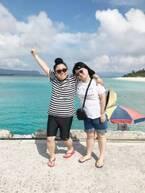 ニッチェ・江上、夫への沖縄土産を公開「ジャンボパックを2つも買っちゃった」