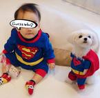 保田圭、息子と愛犬でお揃いのコスプレ姿を公開に「ヤバい」「超かわいい!!」の声