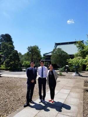 羽田美智子、『特捜9』メンバーで豪徳寺へ散歩「束の間のGW気分」