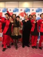 荻野目洋子、ヒョウ柄衣装でDA PUMPと共演記念ショット「楽しかったし感慨深いです」