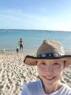 小原正子、曇天のハワイでの過ごし方「家族 べったり のんびり楽しい」
