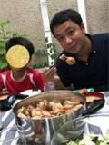 白城あやか、夫・中山秀征との結婚記念日「やっぱり家族ご飯じゃないとね」