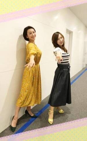 森口博子、浅田舞と「フィギュアスケーターになったつもり」な2ショット