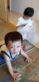 小原正子、兄弟の対照的な遊び方ををみて性格の違いつづる「静と動」