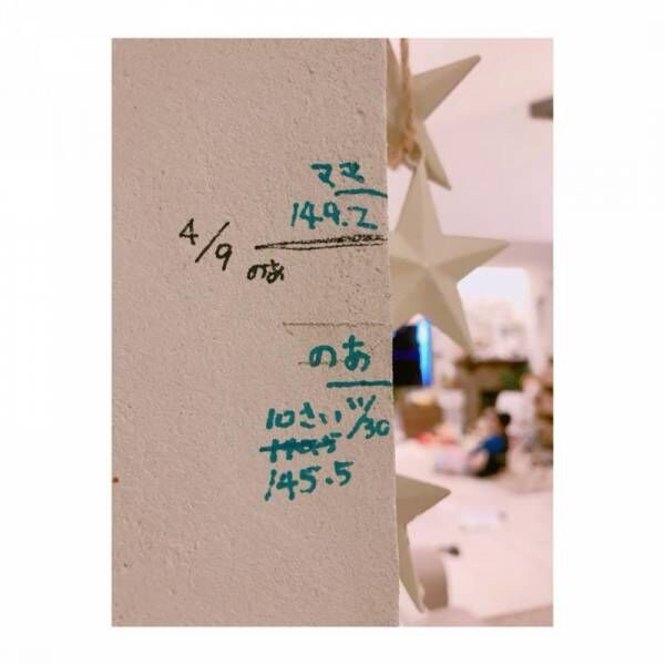 辻希美、娘との身長差が約1cmに「小学5年生より小さいのはやだよー」