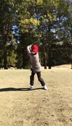 東尾理子、妊娠8ヶ月でゴルフ「一発打ってみようかな…なんて」