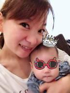 保田圭、息子が7ヶ月になり離乳食が2回食に「すごく嬉しいけどちょっぴり寂しい」