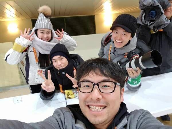 パラアイスホッケー日本代表・上原大祐 選手村でEXILE TETSUYAを発見