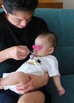 保田圭、6か月の息子が離乳食デビュー「食べてくれて感激でした」