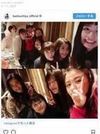 土屋太鳳、『チア☆ダン』メンバーと食事会「この美しい女性のかたまりはなんなんだ!」と驚きの声