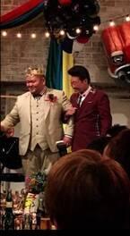 同事務所のANZEN漫才・あらぽん結婚式に出席「手作り沢山オシャレ可愛い結婚式でした」