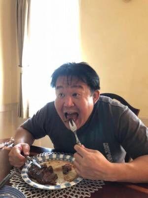 ダイエット中の花田虎上、ステーキ完食できず「やはり胃が小さくなっているのか」