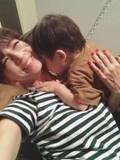 安田美沙子、息子とのラブラブショットを公開「急にスイッチが入った」