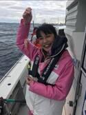 奥山佳恵、船釣りをして大量の魚GET「サイコーの誕生日前祝い」