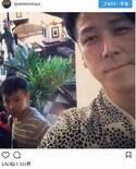 和泉元彌、息子との2ショットを公開 凛々しい表情に「大人びたイケメン!!!」と反響