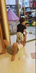 小原正子、相方・くわばたりえの長男に「感謝しまくりの1日」