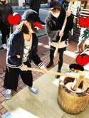 杉浦太陽、妻・辻希美と保育園の餅つき大会に参加「腕がパンパン」