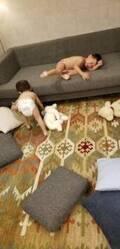 小原正子、裸で暴れる息子たち「怒鳴ってみても楽しそう」