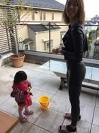 東尾理子、遊びに来てくれるすみれに感謝「お姉ちゃんの事、大好きです」