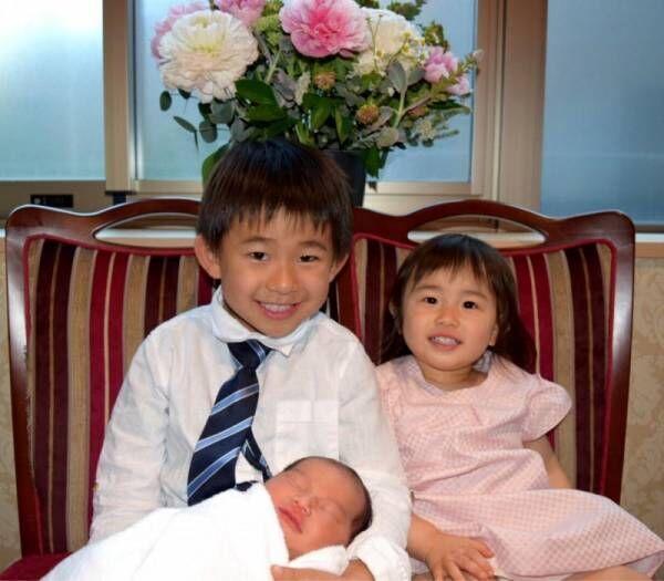 """東尾理子、第3子女児の名前""""つむぎ""""と発表「自分らしさに自信を持ち、輝いた人生になる様に」"""