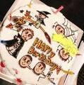 東原亜希、長女のイラストが描かれた誕生日ケーキを公開「世界で一つの」
