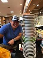 ダイエット中の花田虎上、娘達と回転寿司で夕食「食べられないかと思っていたのですが」