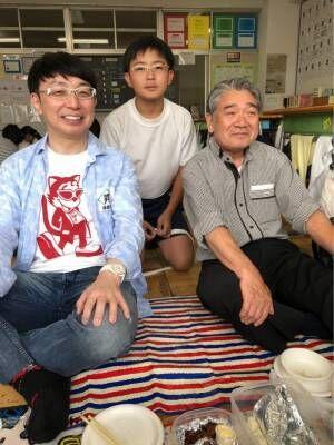 ジャガー横田、運動会での3世代ショットを公開「卒業の時が来たようです…」