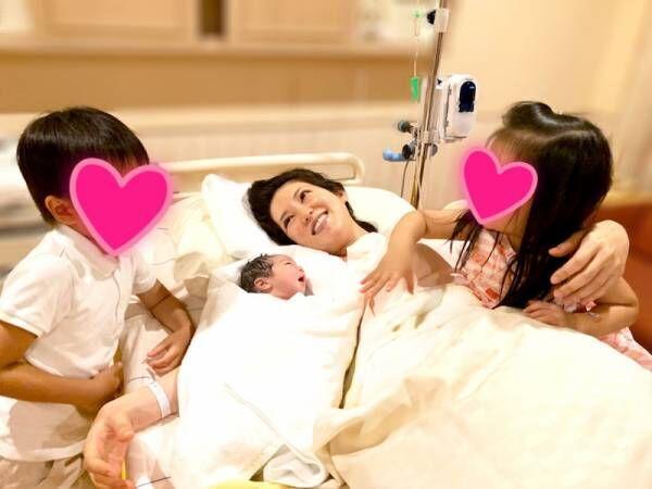 友利新、第3子の出産を報告「命の重みを実感しています」