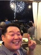 花田虎上、3月のハワイで長岡の花火を堪能「目の前で音も大きく迫力」
