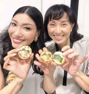東尾理子、滝川クリステル夫婦のクッキーを公開「クリス、結婚おめでとう」