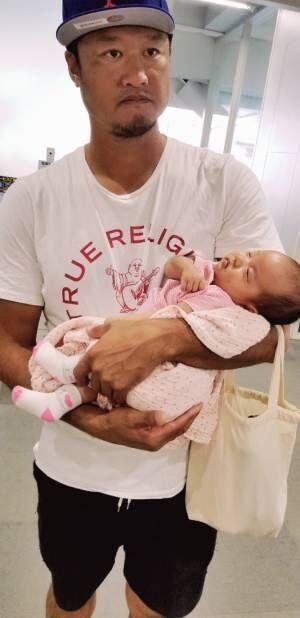 小原正子、長女の初めての予防接種「旦那さんが一緒でよかった」