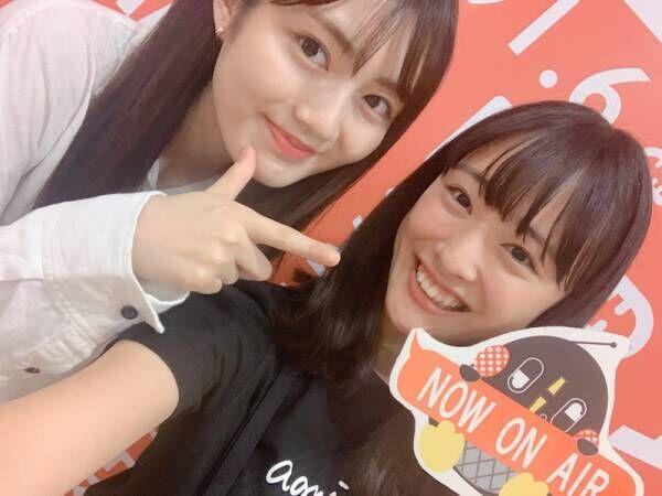 """大友花恋、""""本当に素になる""""水谷果穂との2ショット「すごいすき!」「可愛い笑顔」の声"""