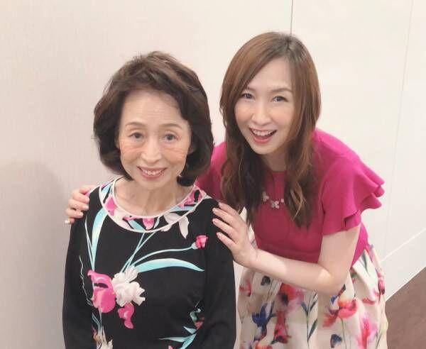 森口博子、83歳の母と『徹子の部屋』出演「緊張でガチガチ」