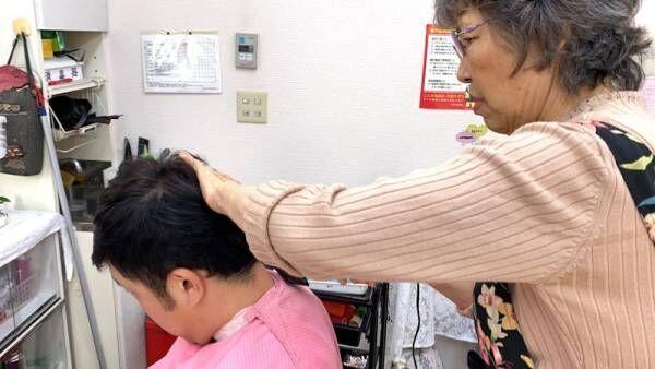 あべこうじ、母に散髪してもらいさっぱり「皆さんヨウコ美容室はいかがでしょうか?」