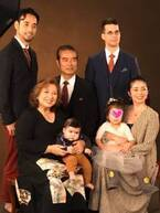 キャシー中島、孫の七五三で家族ショットを公開「2時間近くかけてやっと」