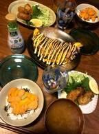ニッチェ・江上、夫が驚いた豪華な朝食を公開「こんなの食べていいの?」