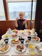 整形男子アレン、約5000円の優雅な朝食を公開「美味しそうな料理ばかり」