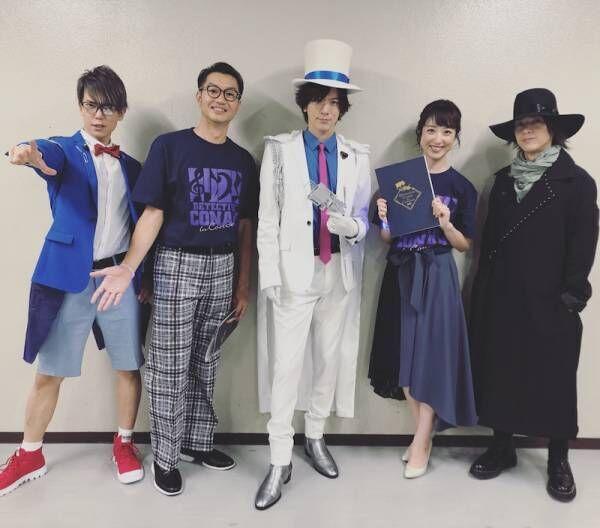 川田裕美アナ、DAIGOらとの集合ショットを公開「コナンの世界から出てきたよう」