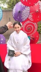 杉原杏璃、誕生日に初の白無垢で神前式「日本らしいことができて嬉しかった」