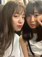 大友花恋、横田真悠とSeventeen専属モデル2ショットを公開「元気をもらいました」