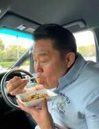 花田虎上、昼食用に買った惣菜に「徹底してスゴイ」「意思が固いですね」の声