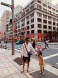 大沢樹生、夏休み最終日に娘とお出かけ「明日から幼稚園やないか~い!」