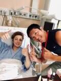 間瀬翔太、手術後面会に来てくれた長井秀和に感謝「本当に嬉しい」