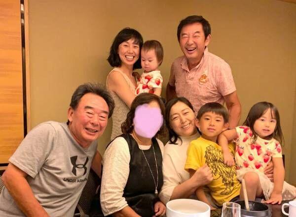 東尾理子、家族揃ってお盆の食事会「少しずつでも何かを感じとってくれたら」