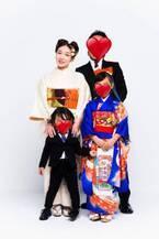 加護亜依、娘の七五三で家族写真を公開「素敵」「ママに似てる」の声