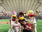 """狩野英孝、初のプロ野球観戦を報告「""""にわか""""とか叩かれたりしますが」"""