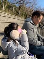 花田虎上、マラソン大会の結果に娘が涙「自己最高位でしたが」